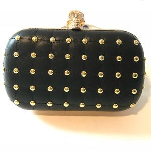 Black Clutch (After Glow Black) From JustFab